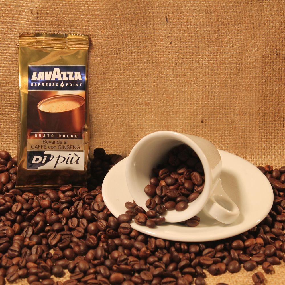 50 CAPSULE LAVAZZA  POINT GINSENG