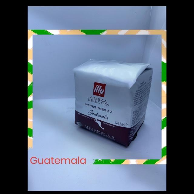 18 CAPSULE ILLY IPERESPRESSO GUATEMALA