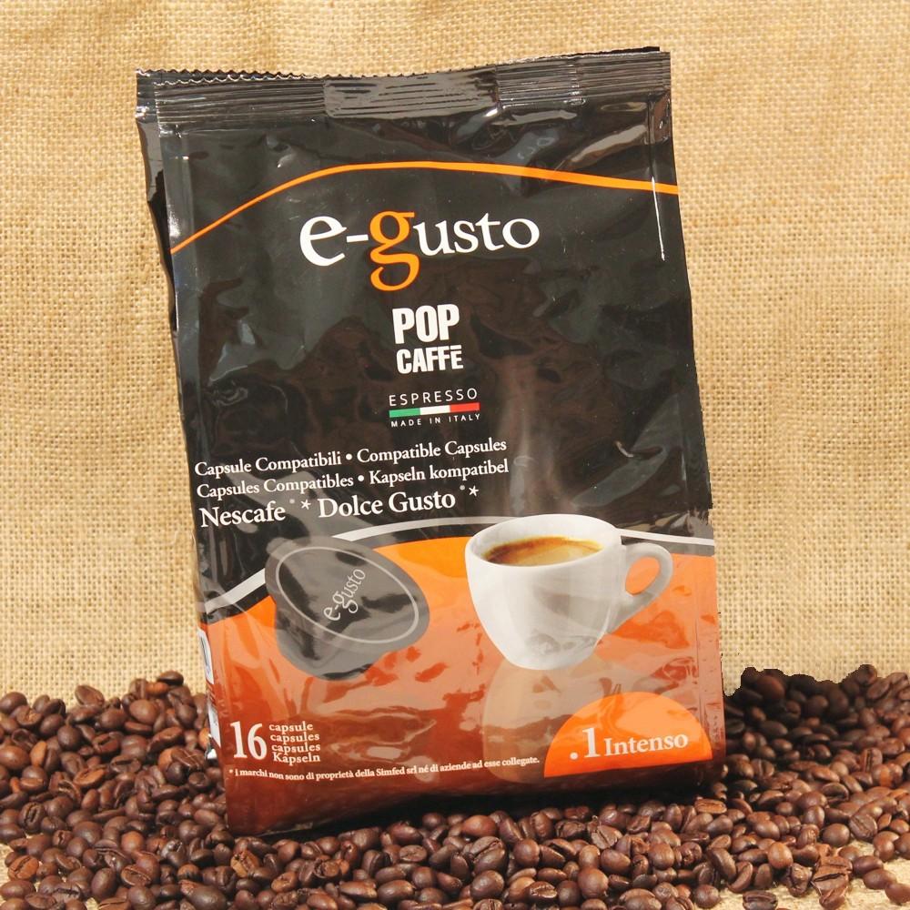 96 CAPSULE E-GUSTO INTENSO POP CAFFÈ