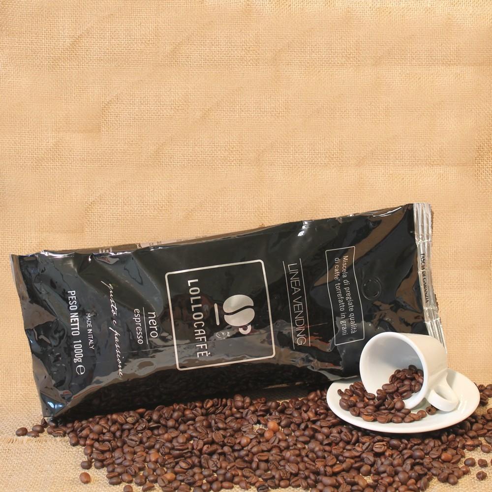 CAFFE IN GRANI LOLLO NERO