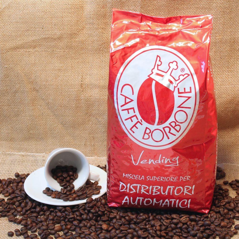 CAFFE IN GRANI BORBONE RED