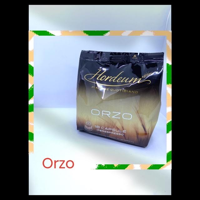 18 CAPSULE ILLY IPERESPRESSO ORZO